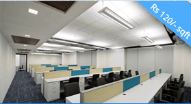 furnished office space in film city noida