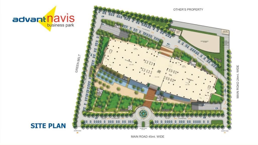 Advant Navis Business Park Sector 142 Noida Expressway