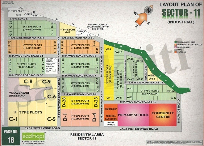 Sector-11,Noida Map