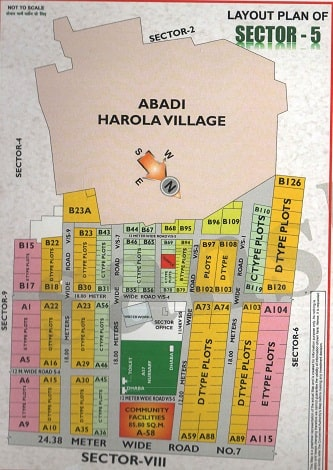 Sector-5,Noida Map