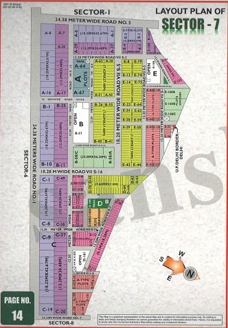 Sector-7, Noida Map