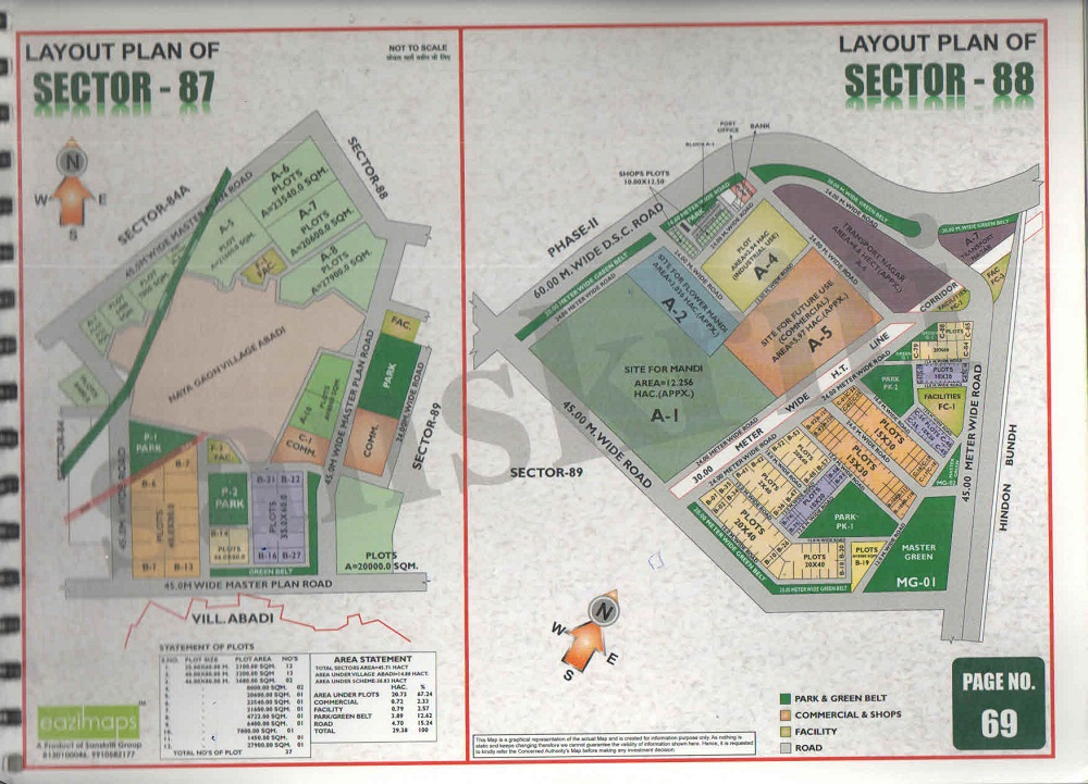 Sector-88 Noida Map